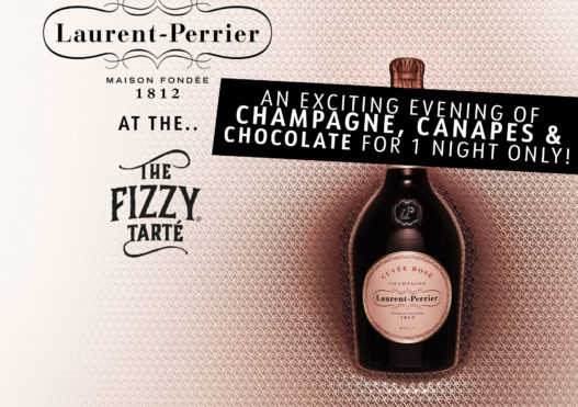 An Exclusive Evening with Laurent Perrier at The Fizzy Tarté