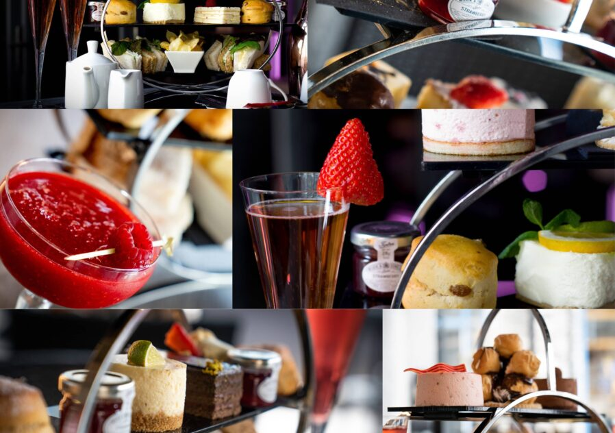 What's included in our Afternoon Tea at the Fizzy Tarté